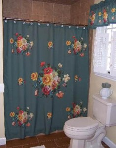 Epr Retail News Fabric Shower Curtains And Matching Window Valances From Tole Tray Are Making